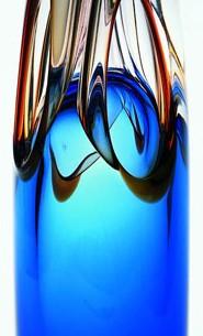 Marian Pyrcak Hand Blown Decorative Glass Ornament