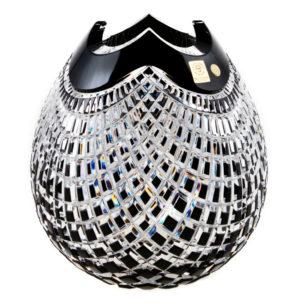 Crystal Vase Black