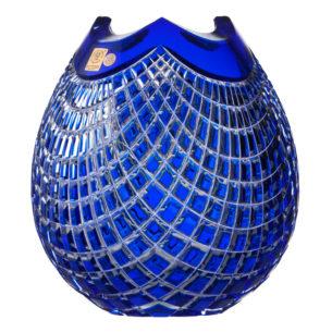 Crystal Vase Blue