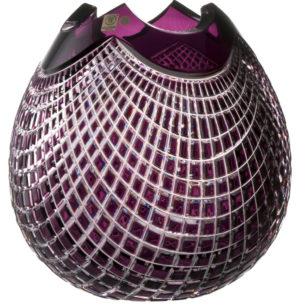 Crystal Vase Purple