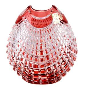 Crystal Vase Red