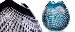 Bohemian Glass Crystal Vases