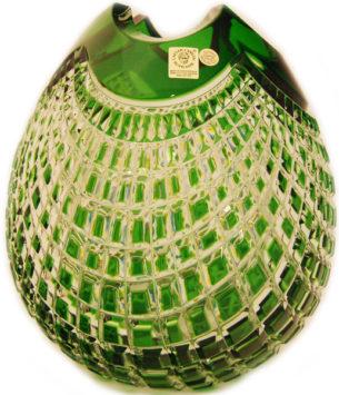 Crystal Vase Green