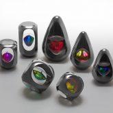 Steel Glass Ornaments