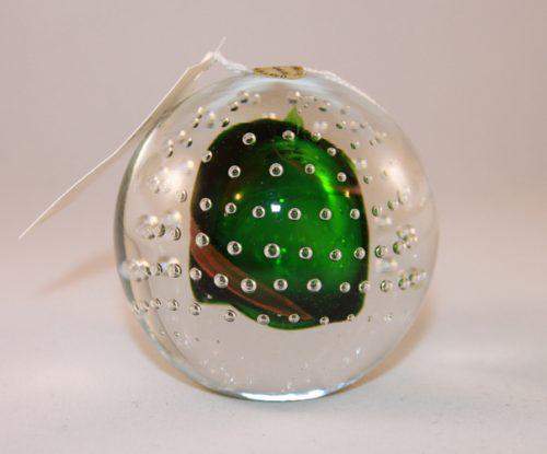 Green Glass Paperweights