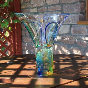 Tall Glass Bowls Kin Tu by Adam Jablonski