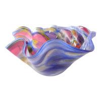 Glass Handkerchief Bowls