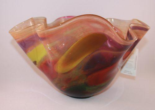 Jablonski Handkerchief Glass Bowl