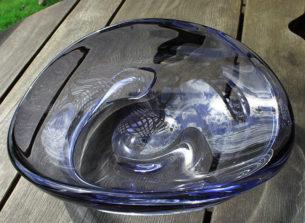 Mercure glass crystal bowl
