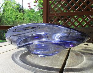 art glass bowls