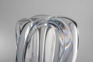Crystal Glass Ornaments Korona by Adam Jablonski close up