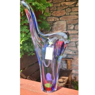 Blue Glass Sculptures