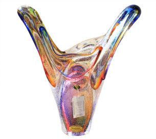 Fiesta Glass Crystal Sculpture