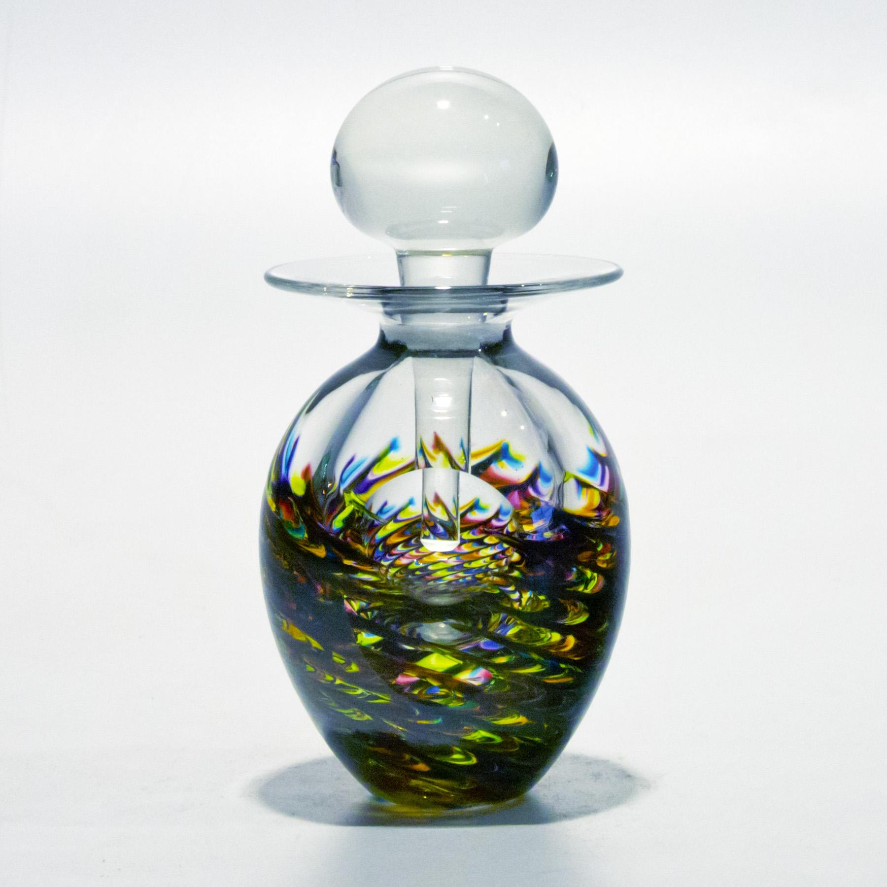 Colorful Perfume Bottles Lush By Michael Trimpol