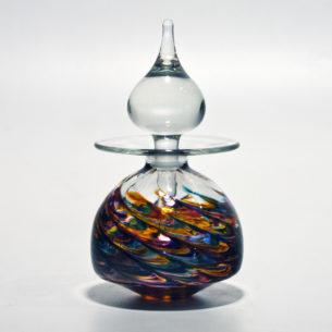 dervish art glass perfume bottles