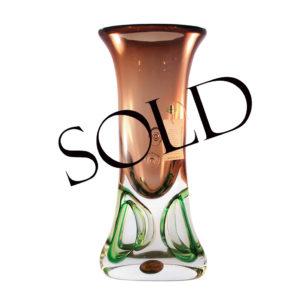 art nouveau vase sold