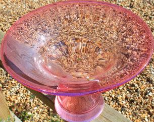 Aura glass bowl