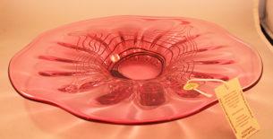 Scylla Art Glass Platter