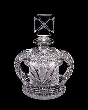 Flint Glass perfume bottles UK