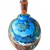 Round Silver Veil Perfume Bottles