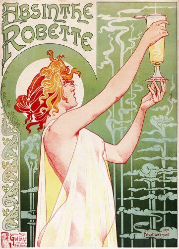 Absinthe Robette Belle Epoque