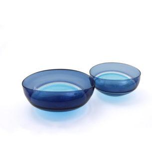 Blue Glass Bowls