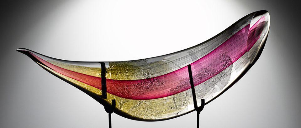 glass sculpture slider