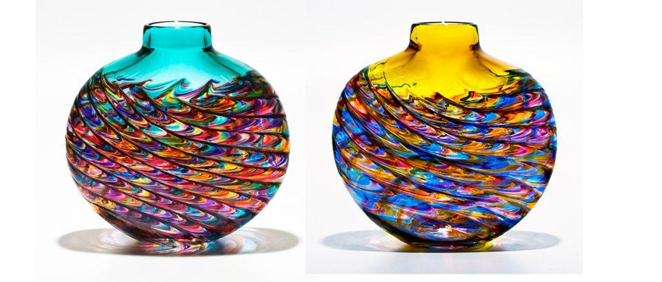 glass vases slider