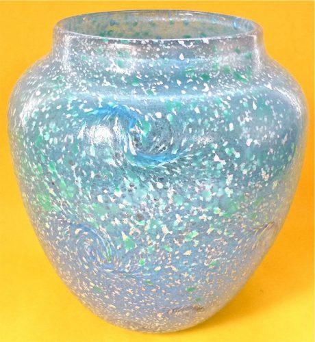 rare Monart handmade art glass vase