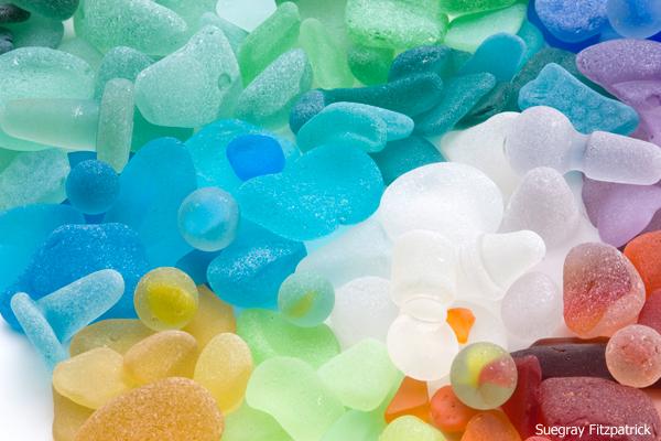 sea glass assorted