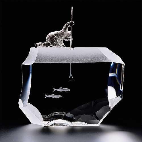 glass art sculpture Houston