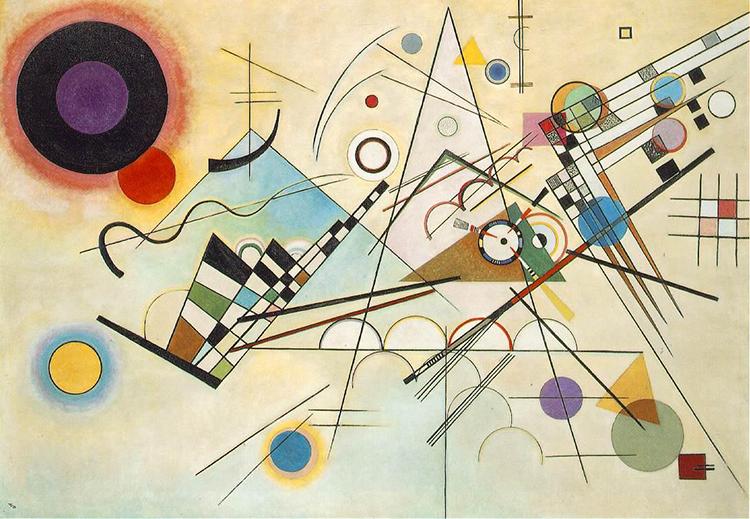Kandinsky composition VIII 1923