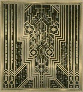 Art Deco Glass Designs | Metalwork | Architecture