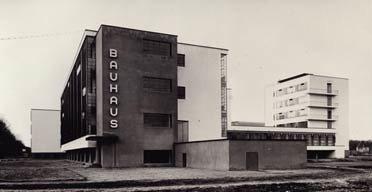 Bauhaus school of art and design
