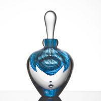 Blue Glass Perfume Bottles