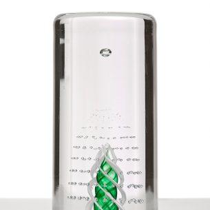 vortex Clear Glass Paperweight