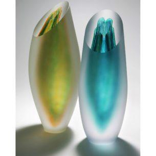 Hand Blown Glass Vessels