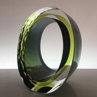 Handblown Glass Sculpture