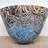 Phoenix glass vessel