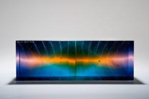glass prism serenity orange horizontal