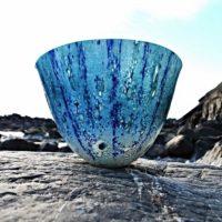 art glass vessel 'Caspian'