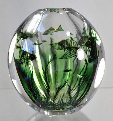 Swedish glass art