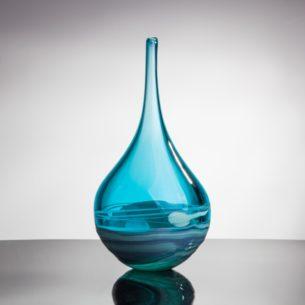 Vessel Glass Blue