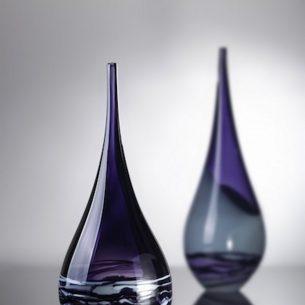 Vessel Glass Ornament By Hayley Gammon Purple