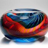 handmade glass bowl