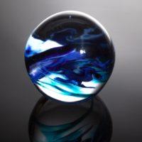 Round Glass Paperweights By Hayley Gammon