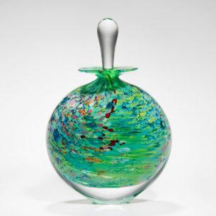 round perfume bottle monet wide stoneform