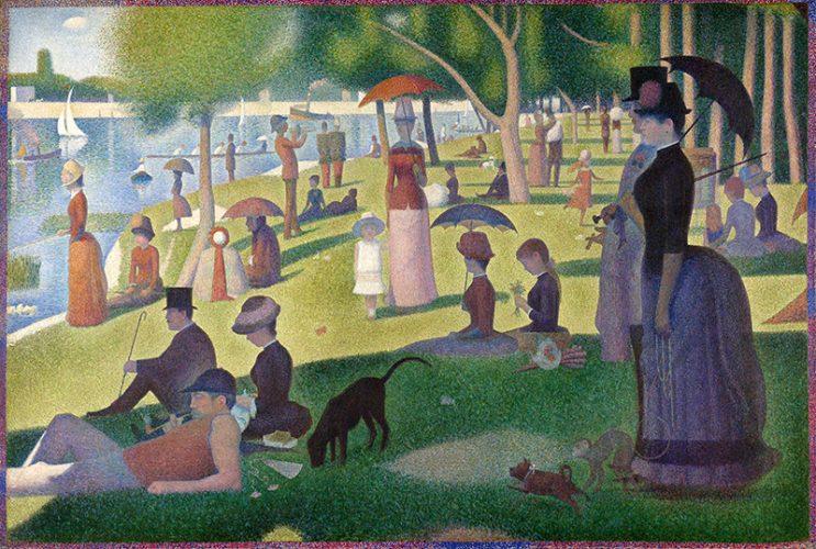 Georges Seurat Art La Grande Jatte 1884