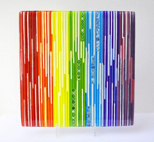 Abstract Glass Art