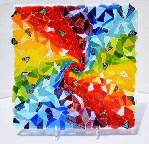 Abstract Art Glass